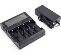 Зарядное устройство ЯРКИЙ ЛУЧ FOLOMOV A4 для 1-4 аккум. Ni-MH/Ni-Cd, Li-Ion, LiFePO4, STN-экран 4606400622208