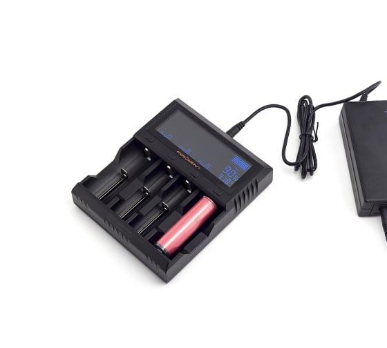 Зарядное устройство ЯРКИЙ ЛУЧ FOLOMOV A4 для 1-4 аккум. Ni-MH/Ni-Cd, Li-Ion, LiFePO4, STN-экран 4606400622208 3