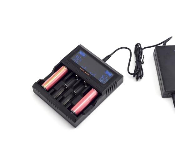 Зарядное устройство ЯРКИЙ ЛУЧ FOLOMOV A4 для 1-4 аккум. Ni-MH/Ni-Cd, Li-Ion, LiFePO4, STN-экран 4606400622208 4