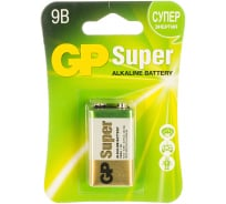 Алкалиновая батарейка GP Крона 1 шт Super Alkaline 1604A-5CR1 10/200