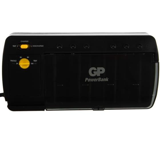 Стандартная зарядка для АА, ААА, С и D аккумуляторов GP PowerBank PB320GS-2CR1 2