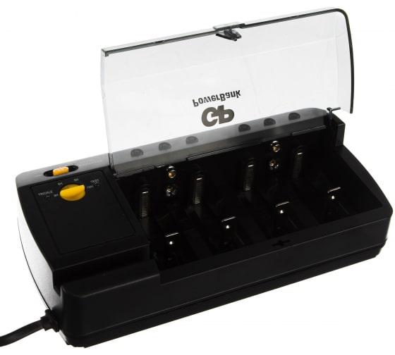 Стандартная зарядка для АА, ААА, С и D аккумуляторов GP PowerBank PB320GS-2CR1 3