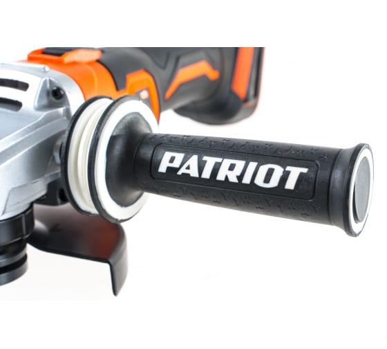 Углошлифовальная машина PATRIOT AG 125UES 110303125 4