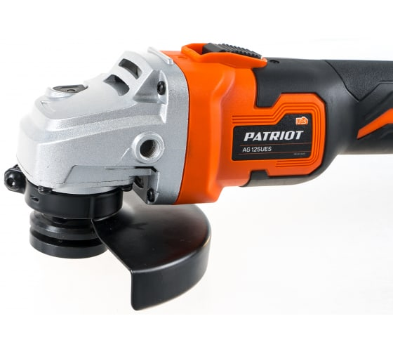 Углошлифовальная машина PATRIOT AG 125UES 110303125 7