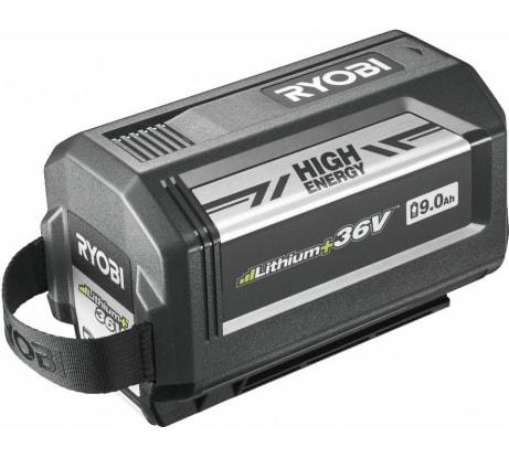 Фото аккумуляторной батареи Ryobi RY36B90A 36В; 9.0 Ач; Lithium+High Energy 5133003271