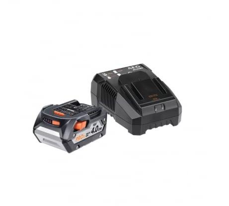 Фото аккумулятора AEG SETL1840AL 18В + зарядное устройство 4932464983