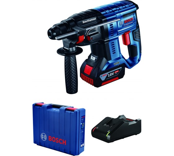 Купить аккумуляторный бесщеточный перфоратор bosch gbh 180-li с 1 акб и зу 0611911122 в Саратове - цены, отзывы, характеристики, доставка, гарантия, инструкция