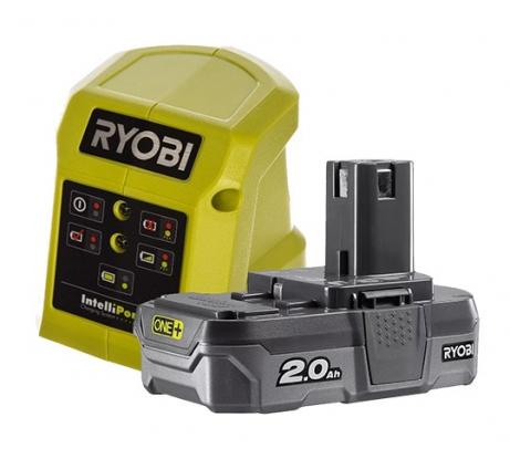Фото набора Ryobi RC18115-120VSE аккумулятор + зарядное устройство 5133004897