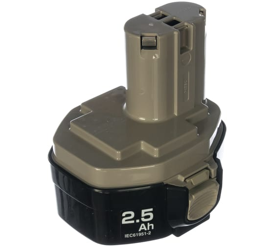 Аккумулятор кубический (14,4 В; 2,5 А*ч) для дрелей-шуруповертов 1434 Makita 193101-2 1
