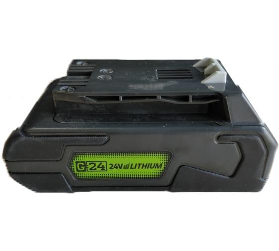 Аккумулятор (2 А*ч; 24 В) G24B2 Greenworks 2902707 3