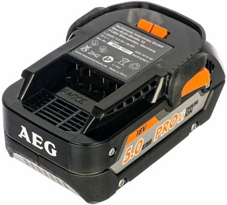 Фото аккумулятора AEG L1850R 18 В, 5 Aч, Li-ion 4932451630