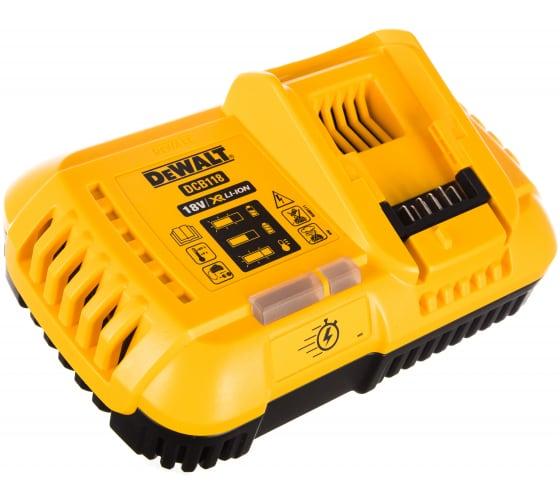 Универсальное зарядное устройство (18-54 В) DEWALT DCB118 2