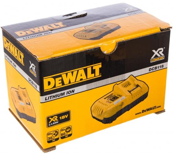 Универсальное зарядное устройство (18-54 В) DEWALT DCB118 3