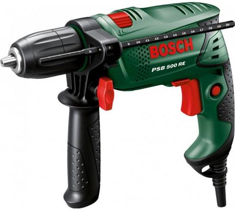 Фото ударной дрели Bosch PSB 500 RE 603127020