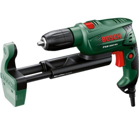 Фото ударной дрели Bosch PSB 500 RA 603127021