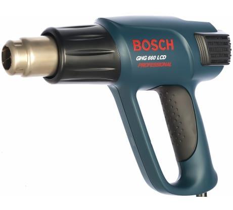 Фото технического фена Bosch GHG 660 LCD 601944302