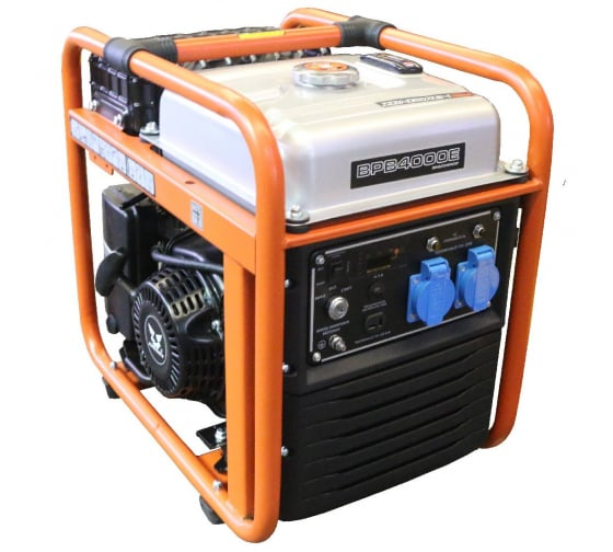 Бензиновый инверторный генератор Zongshen BPB 4000 E 1T90DFB41 в Нижнем Новгороде - купить, цены, отзывы, характеристики, фото, инструкция