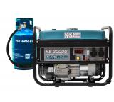 Газобензиновый генератор Konner&Sohnen KS 3000G