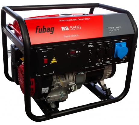 Фото бензиновой электростанции FUBAG BS 5500