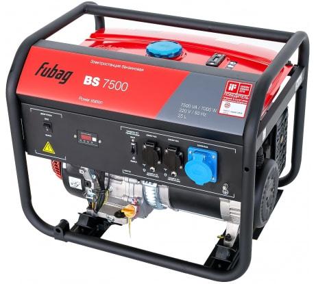 Фото бензиновой электростанции FUBAG BS 7500