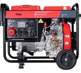 Дизельная электростанция с электростартером и коннектором автоматики FUBAG DS 7000 DA ES