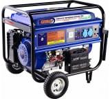 Гибридный генератор газ-бензин СПЕЦ-HG-7000 и комплект для подключения к сети+баллону