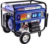 Гибридный генератор газ-бензин СПЕЦ HG-8000 и комплект для подключения к сети+баллону