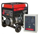 Бензиновая электростанция с электростартером и коннектором автоматики FUBAG BS 11000 DA ES + Блок автоматики Startmaster BS 6600 D для BS11000 DA ES 838790.12