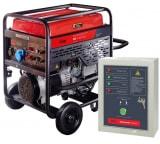 Бензиновая электростанция с электростартером и коннектором автоматики FUBAG BS 11000 A ES 838789+Блок автоматики Startmaster BS 6600 для BS11000 A ES 838789.11