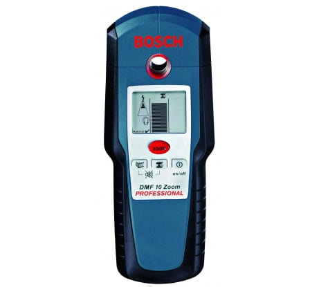 Фото детектора металла Bosch DMF 10 Zoom extra 601010000