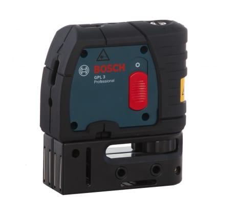 Фото точечного лазерного нивелира Bosch GPL 3 601066100