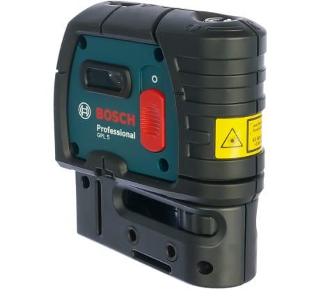 Фото точечного лазерного нивелира Bosch GPL 5 601066200