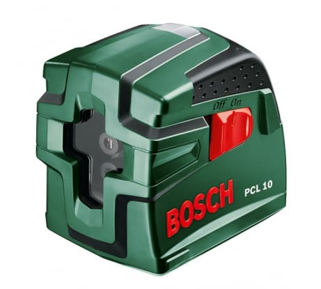 Фото лазера с перекрестными лучами Bosch PCL 10 Set 603008121