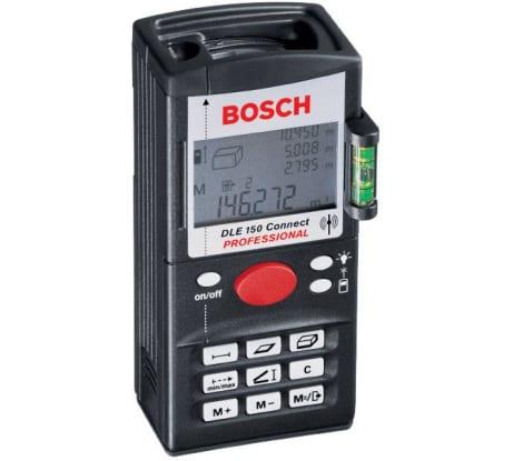 Фото лазерного дальномера Bosch DLE 150 Connect 0.601.098.503