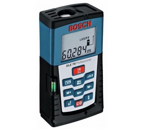 Фото лазерного дальномера Bosch DLE 70 601016600