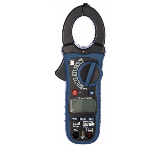 Профессиональные токовые клещи СЕМ DT-362 482056 1