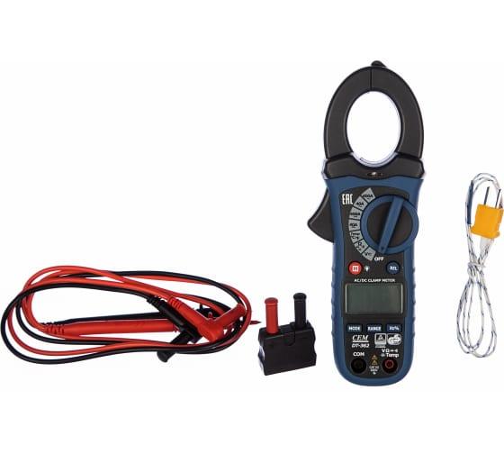 Профессиональные токовые клещи СЕМ DT-362 482056 3
