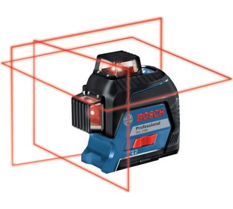 Фото лазерного нивелира Bosch GLL 3-80 Professional в кейсе 0601063S00