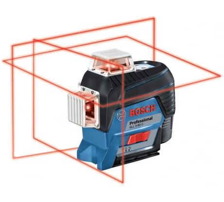 Фото лазерного нивелира Bosch GLL 3-80 C Professional в L-Boxx 0601063R02
