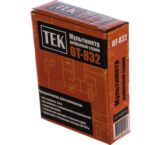 Мультиметр Ресанта ТЕК DT 832 61/10/512 5