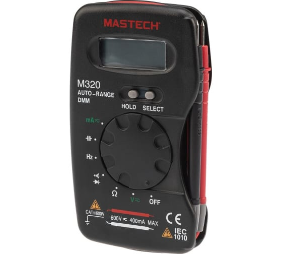 Купить портативный мультиметр mastech m320 13-2009 в Тольятти - цены, отзывы, характеристики, доставка, гарантия, инструкция