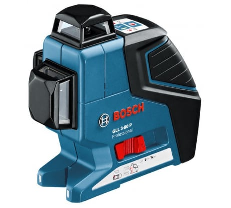 Фото лазерного нивелира Bosch GLL 3-80 P 601063301 штатив BS 150