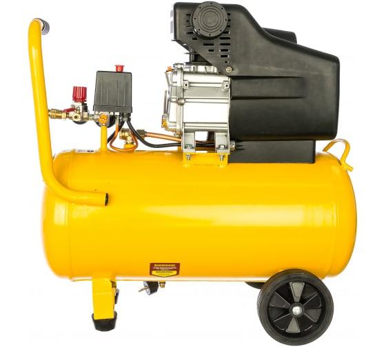 Воздушный компрессор DENZEL PC 50-260, 1,8 кВт, 260л/мин, 50л, 10 бар 58073 3