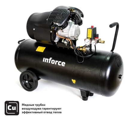 Фото компрессора Inforce CXV-100L 04-06-23
