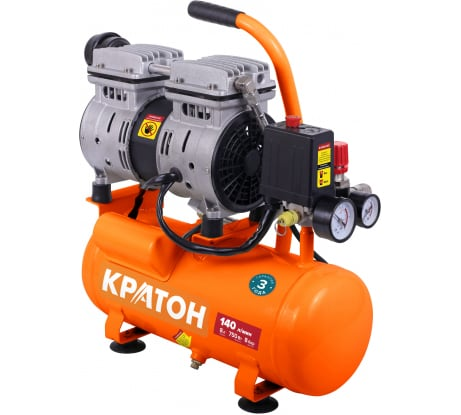 Безмасляный компрессор с прямой передачей Кратон AC-140-8-OFS 3 01 01 051 в Воронеже - купить, цены, отзывы, характеристики, фото, инструкция