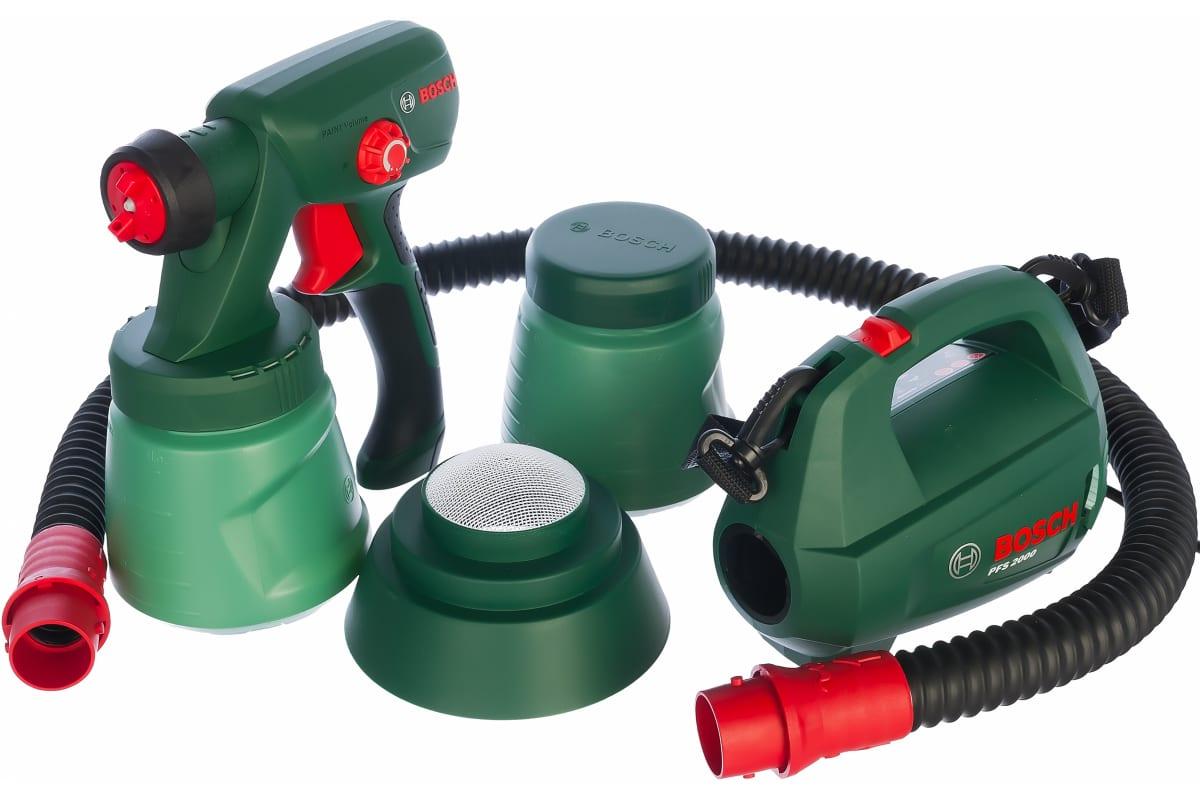 Фото электрического краскораспылителя Bosch PFS 2000 603207300