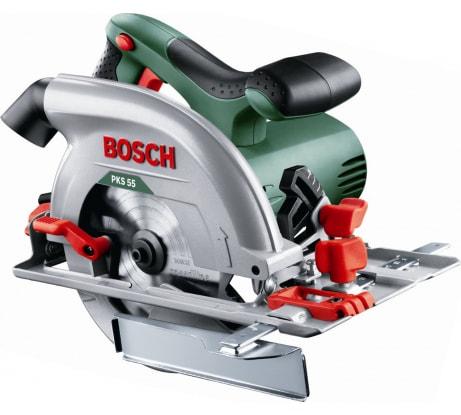 Фото циркулярной пилы Bosch PKS 55 603500020