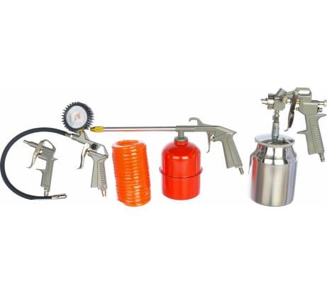Фото набора пневмоинструмента профессионала FUBAG из 5 предметов 120102
