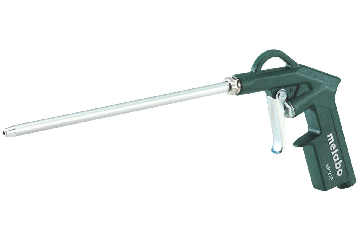Фото продувочного пистолета Metabo BP 210 601580000 200л/мин, длинное сопл 601580000