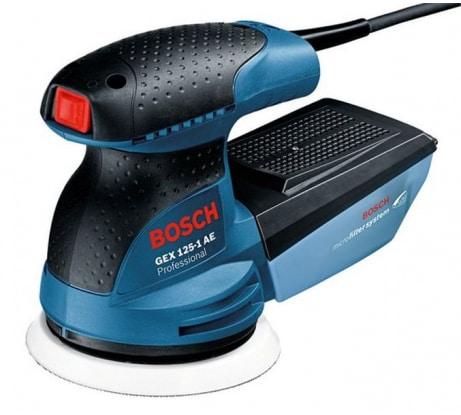 Фото эксцентриковой шлифмашины Bosch GEX 125-1 AE 601387503